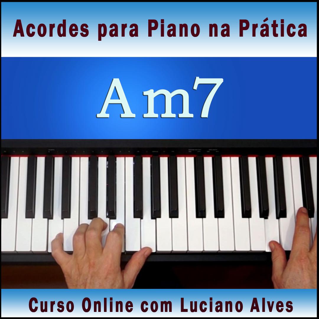 Curso Acordes para Piano na prática com Luciano Alves