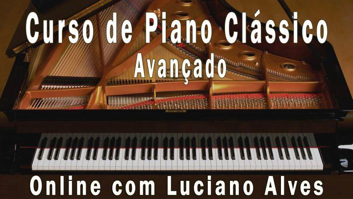 Curso Online de Piano Clássico com Luciano Alves
