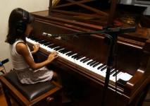 CTMLA aula de piano e canto - Clarisse