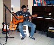 CTMLA aula de violão - Fabio
